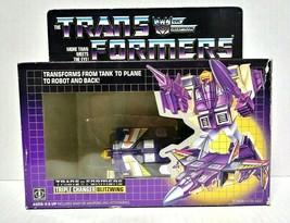 1985 Hasbro G1 Transformers Evil Decepticon Triple Changer Blitzwing w/ Box - $175.00