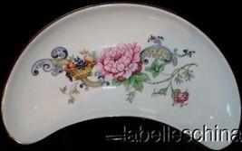 Crown Staffordshire Chelsea Manor Bone Dish / Crescent Shaped Dish Bone ... - $34.60