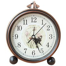 European Retro Alarm Clock Best Alarm Clock Hanging Clocks -Butterfly - $32.43