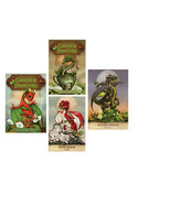 Field Guide To Garden Dragons Oracle Cards and Guidebook Stanley Morrison - $22.77