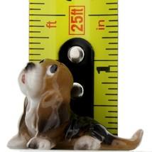 Hagen Renaker Dog Basset Hound Pup Sitting Ceramic Figurine image 2