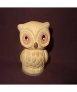 "Vintage Owl Air Freshener Potpourri Holder Figurine COTY  Terra Cotta 4"" - $14.89"