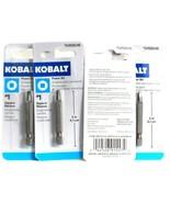 4 Count Kobalt 0459046 2 Inch Power Bit Number 1 Square Recess High Grad... - $15.99