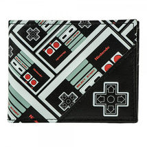 Nintendo Controller All Over Print Bi-Fold Wallet  - $17.99