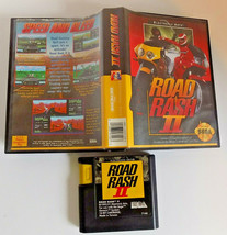Road Rash II game cartridge w/case (Sega Genesis, 1992) - $14.95