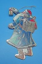 A Commodore European Santa Cardboard Ornament Christmas 1987 - $4.99