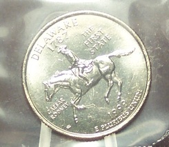 1999-D Delaware State Quarter MS65 in the Cello #623 - $2.39