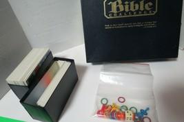 Bible Challenge  Bible Game Trivia Scripture Game Educational James Bari... - $21.78