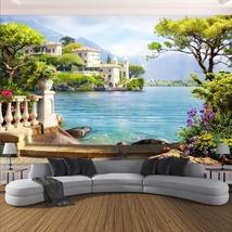 "3D Wallpaper ""Garden Lake Scenery""  - $35.00+"
