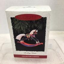 1996 Rocking Horse #16  Hallmark Christmas Tree Ornament MIB Price Tag H8 - $18.32