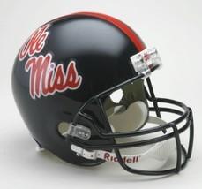 Mississippi Rebels Riddell Deluxe Replica Helmet**Free Shipping** - $111.50