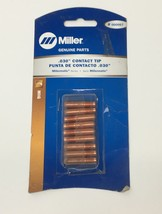 Miller 000067 030 Contact Tip Mig (9 Pieces) - $7.76
