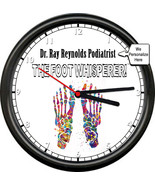 Personalized Name Doctor Podiatrist Office Feet Foot Whisperer Wall Sign... - $21.12