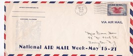 NATIONAL AIR MAIL WEEK CHICAGO, IL MAY 18, 1939 CHIEF - $3.83