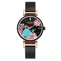 Curren Women's Steel Wrist Watch 9053 (Black) - $30.00