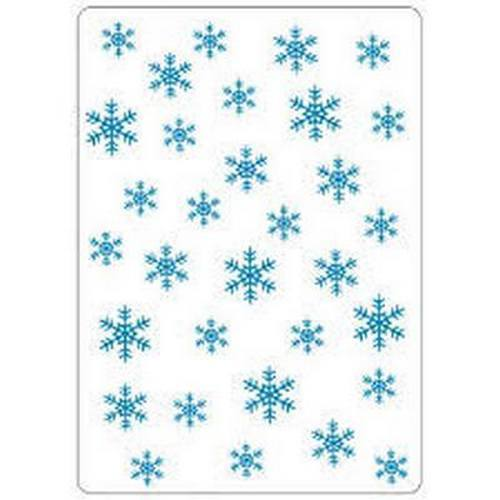 "Crafts-Too Embossing Folder 4""X6"" Snowflakes"
