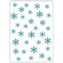 "Crafts-Too Embossing Folder 4""X6"" Snowflakes - $5.45"