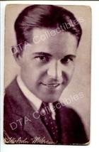 MALCOLM MCGREGOR-PORTRAIT-1920-ARCADE CARD G - $16.30