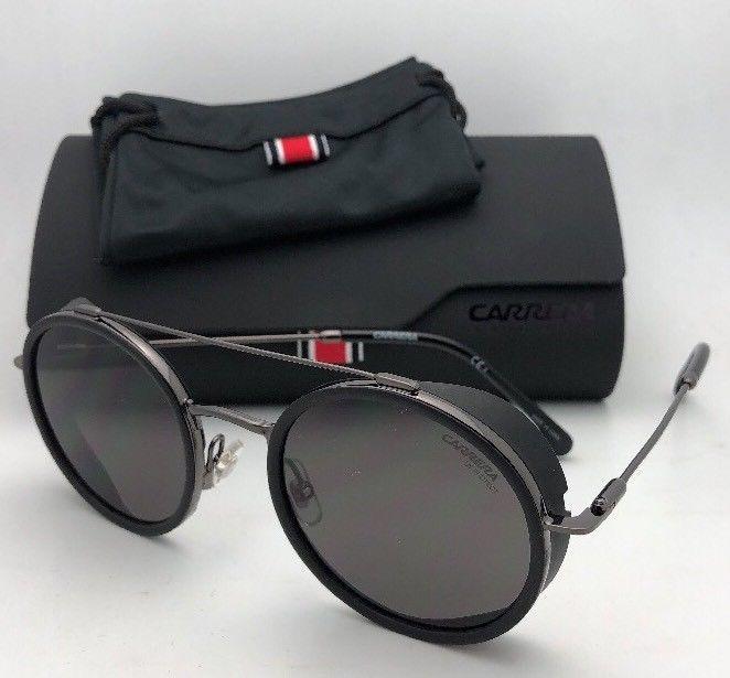 59a9a5ea705d CARRERA Sunglasses 167/S KJ1IR 50-22 Dark Ruthenium-Black Frame w/ Grey  Lenses
