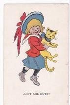 Ain't She Cute? R.F. Outcault Vintage Postcard - $10.41