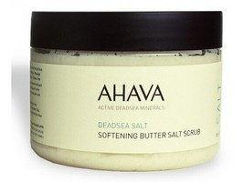 AHAVA Dead Sea Minerals Softening Body Butter Salt Scrub 350gr/12.3oz - $33.87