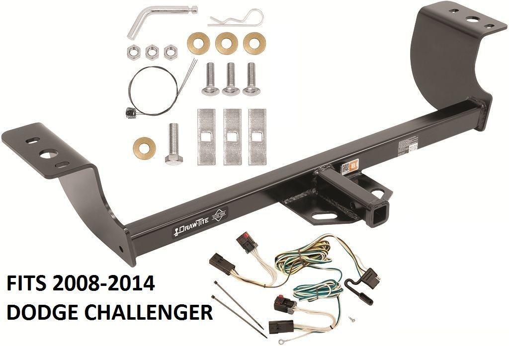 trailer hitch w wiring kit fits 2008 2014 dodge. Black Bedroom Furniture Sets. Home Design Ideas