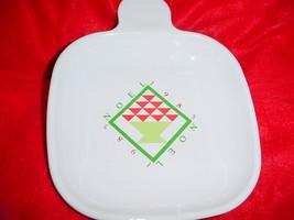 Corning Ware P-185-B Rare 1985 Christmas Heat And Eat Tray Free Usa Shipping - $23.36