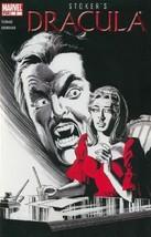 Stoker's Dracula #2 VF  Marvel Comic Book - $1.89