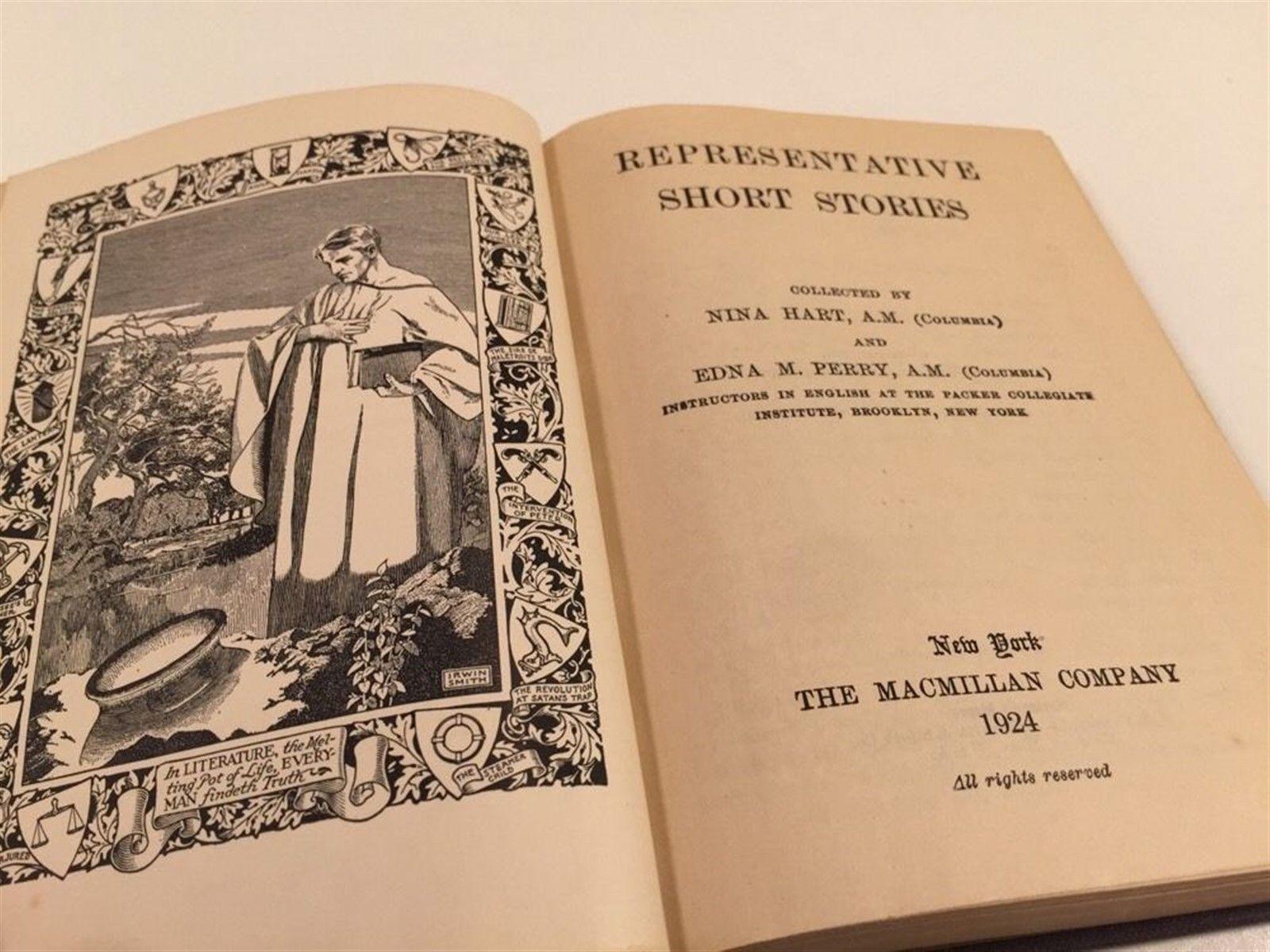 Representative Short Stories - 1924 - Macmillan - Nina Hart, Edna Perry