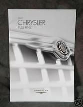 2007 Chrysler Vechile Line - $2.00