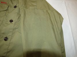 Boy Scouts of America Official Shirt boys youth short sleeve button up shirt image 6