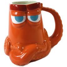 "Disney Store Pixar Finding Dory Ceramic Coffee Mug ""Hank"" 16 oz BRAND NEW - £28.10 GBP"