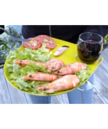 The Great Aussie BBQ and Party Plate 2 Sets of 4 Each New - $29.99