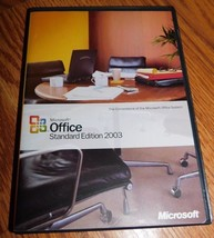 Microsoft Office Standard Edition 2003 Upgrade No install Code - $12.86