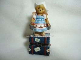 Cherished Teddies Covered Box Across The Seas Holland 1998 NIB - $23.71