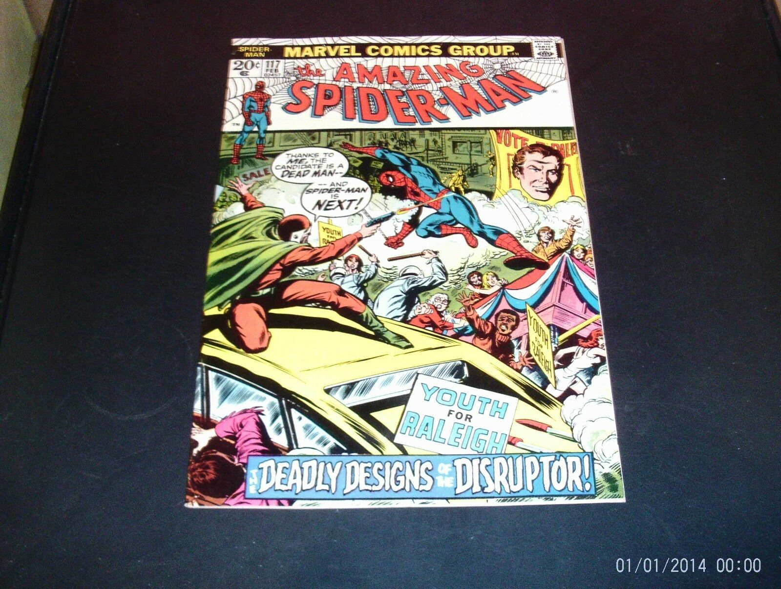 The Amazing Spider-Man #117 Marvel Comic Book 1972 NM Condition (9.2) High End!