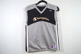 Vintage 90s CHAMPION Mens Small Reversible Spell Out Basketball Jersey S... - $28.46