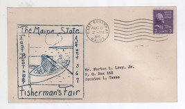 August 5, 6, 7, 1948 Maine State East Boothbay Fishermans Fair Cover - $5.99