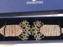 AUTHENTIC SWAN SIGNED SWAROVSKI NAIA  BRACELET 1084482 NIB RARE - $159.00
