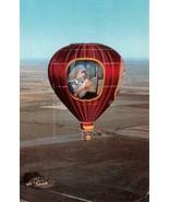 AMARILLO, TX Texas  HOT AIR BALLOON~Good New Mission LIFTING UP JESUS  Postcard - $10.79