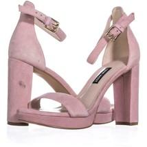 Nine West Dempsey Ankle Strap Dress Sandals 332, Light Pink, 5.5 US - $27.93