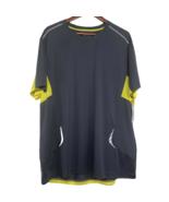 FILA SPORT Men's Running Black T-Shirt Polyester Size XL Gray Yellow NEW - $29.99