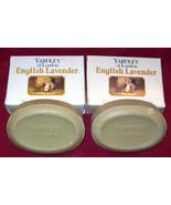 YARDLEY English Lavender Fragrance Bath Body Soap Beauty Lot 2 Bars/ 4.2... - $10.66