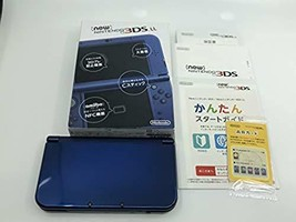 Nintendo 3DS LL XL Metallic Blue Console Boxed - $158.22