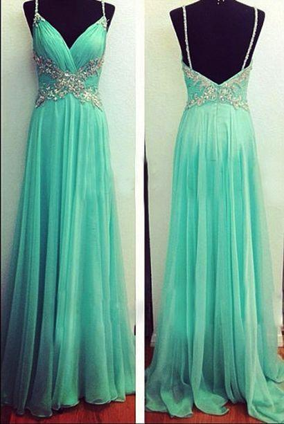 blue Prom Dresses,chiffon prom dress,prom Dress,long prom dress,evening dresses