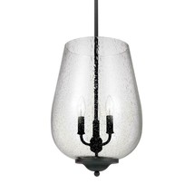Sea Gull Lighting 5127803-839 Morill 3-Light Blacksmith Hall-Foyer Pendant - $142.50
