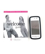 Nokia 5230-1c T-Mobile Cell Phone For Parts Or Repair White w/Black Rubb... - $14.01
