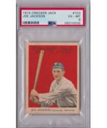 1915 Cracker Jack Joe Jackson #103 PSA 6 P625 - $48,750.00