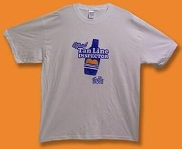 """LABATT BLUE BEER- BLUE MOTEL """"OFFICIAL TAN LINE INSPECTOR"""" T-SHIRT *NEW*... - $11.34"""