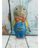 "Vintage MATTEL Peter Cottontail Tin Toy 1950s Wind Up USA ""NOT WORKING""  - $14.84"